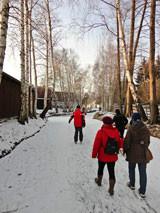 Spazieren gehen auf den Spreewälder Fließen