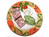 Sülze mit Kartoffel-Bärlauchpüree und saurem Gurkensalat