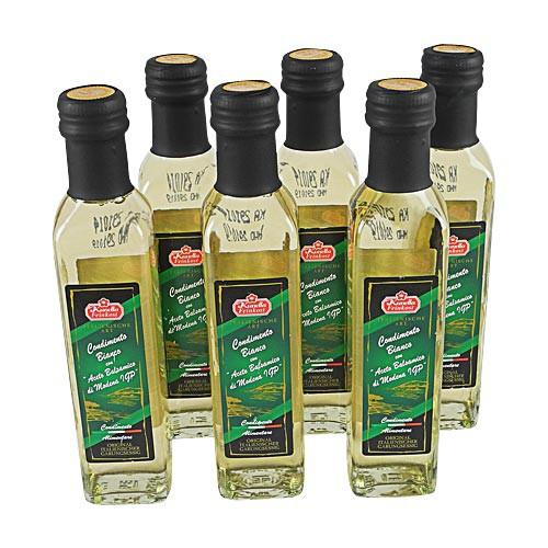 Condimento Balsamico Bianco, 5,5% Säure (6 Flaschen à 250 ml)