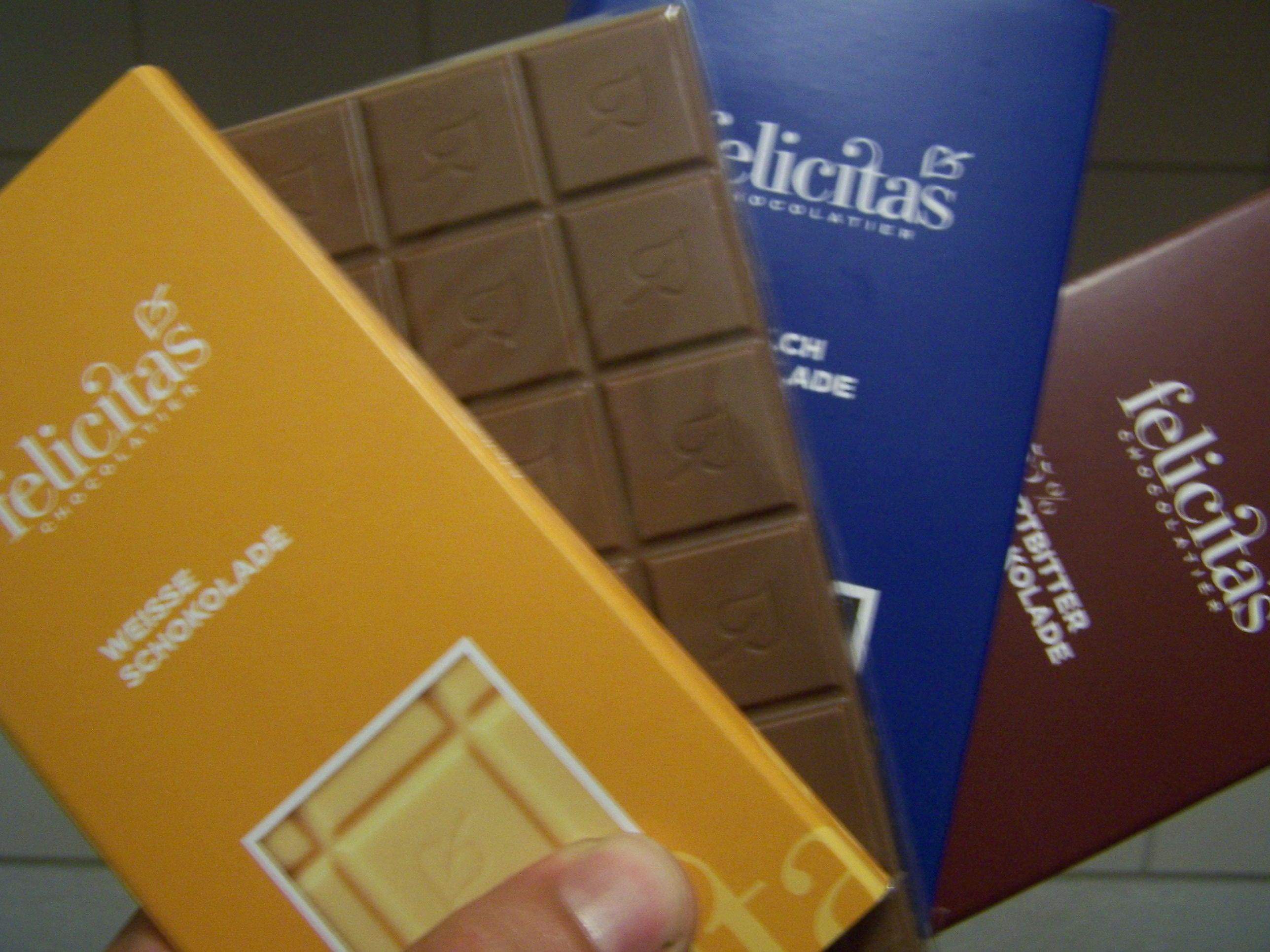 Schokolade Felicitas