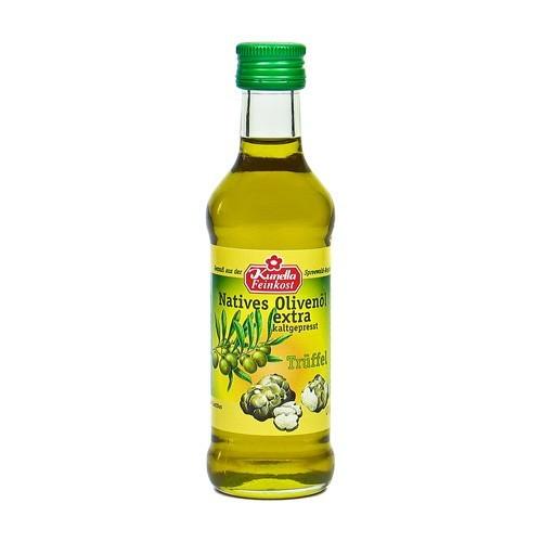 Vergleichen Sie extra natives Olivenöl